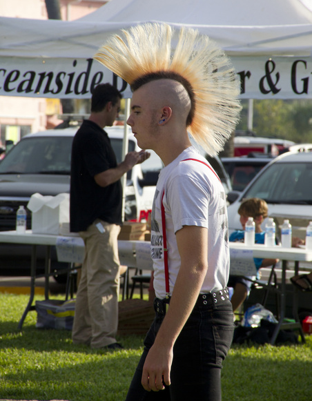 Guy with a Mohawk